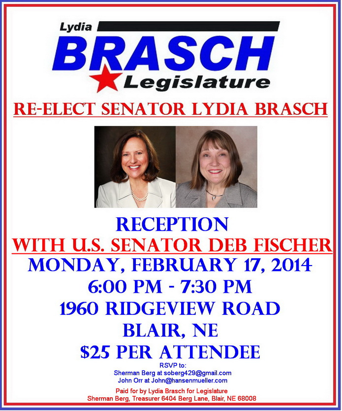 Brasch for Legislature Feb 2014 reception1b695px