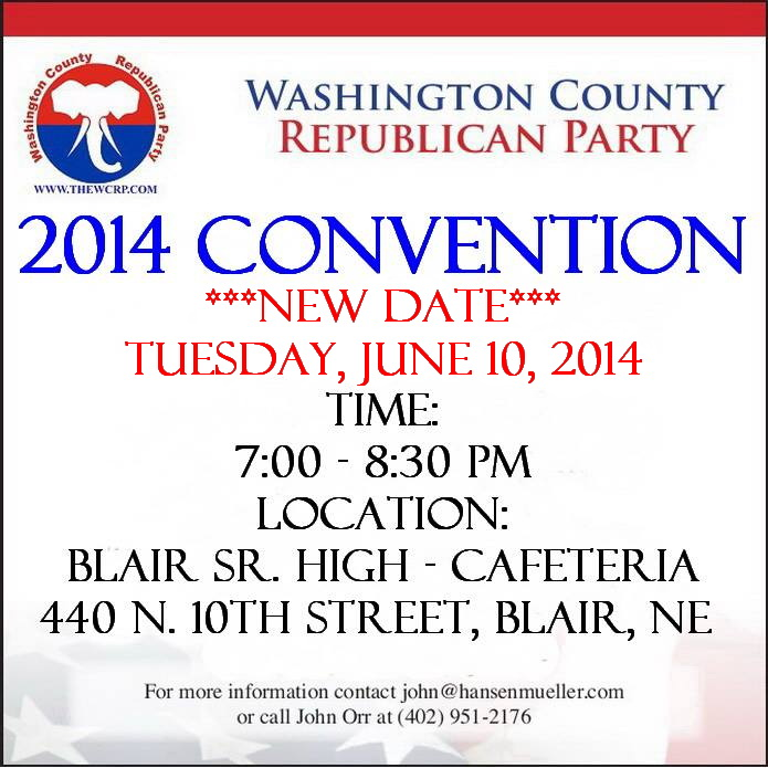 WCRP 2014 convention announcement UPDATED