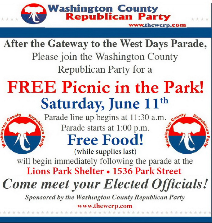 2016 Gateway Parade and Picnic advertisement695px