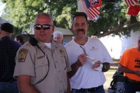 Sheriff Mike Robinson & Chairman John Orr