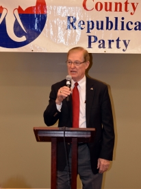 Senator & Governor candidate Tom Carlson