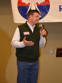 Senator & Governor candidate Beau McCoy