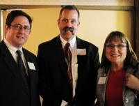 Speaker Mike Flood, Chairman John Orr, Senator Lydia Brasch