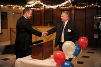 Chairman John Orr, Mayor Jim Realph