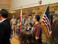 Boy Scouts Honor Guard