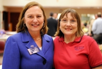 Senators Deb Fischer & Lydia Brasch